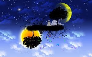 yin yang moon sun - dreamstime_xxl_12126720